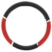 SUMEX 2505058 - funda de volante pvc speed negro negro 37-39cm