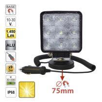JBM 52566 - GIROFARO LED 12-24V BASE FLEXIBLE