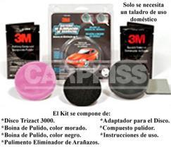 Carpriss 79140104 - 3M Kit Restauración Faros