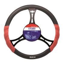 Sparco SPC1102L - Funda de volante Sparco linea roja